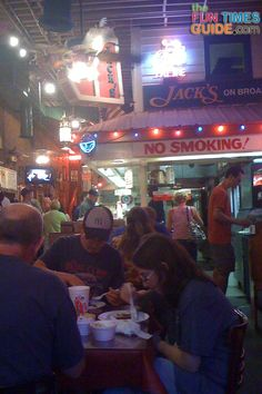 A look inside Jack's Barbecue in Nashville, Tennessee. photo by Lynnette at TheFunTimesGuide.com