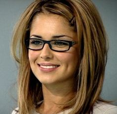 Cheryl Cole--A huge 90 percent of people find those who wear glasses to be attractive according to a recent pool by Henley's Eyewear, with Johnny Depp and Cheryl Cole topping the polls of the most attractive celebrities who wear glasses.