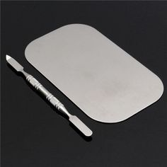 Stainless Steel Mixing Color Palette Nail Art Dish Spatula Makeup Cosmetic  http://www.ebay.co.uk/itm/Stainless-Steel-Mixing-Color-Palette-Nail-Art-Dish-Spatula-Makeup-Cosmetic-/142083584643?hash=item2114d77283:g:NP8AAOSwHoFXrgDL