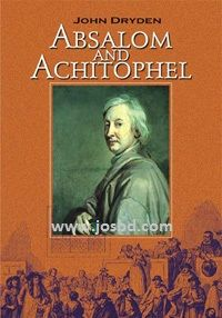 Absalom and Achitophel, biblical allegory, John Dryden, John Dryden poem