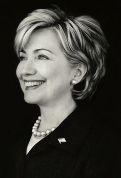 Hillary Clinton: I really admire her intelligence,competence,tenacity and bravery.
