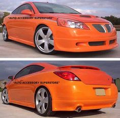 Thanks goes to Tom for sending to us photos of his Pontiac G6 with our body ground effects package installed on it. Now this looks really cool!
