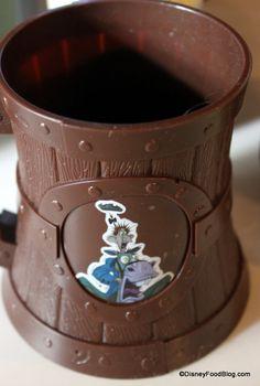 Icabod Crane Souvenir Mug at sleepy hollow in Disney World's Magic Kingdom.  AAAAAAHHHHHHHHHHH!!!!!