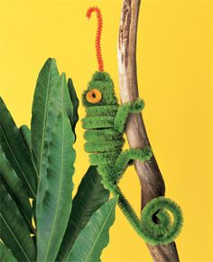 Pipe cleaner chameleon