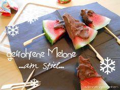 watermelon with chocolate  http://sonnengedanken.blogspot.de/