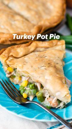 Turkey Leftovers, Turkey Dishes, Leftovers Recipes, Turkey Recipes, Thanksgiving Side Dishes, Thanksgiving Recipes, Holiday Recipes, Great Recipes, Favorite Recipes