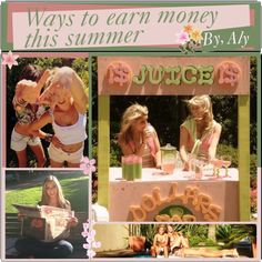 Ways to earn money this summer. by fabulous-tipsters on Polyvore
