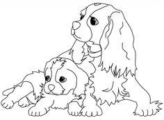 ausmalbilder tiere hund | ausmalbilder tiere kostenlos zum drucken | ausmalbilder hunde