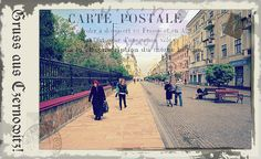 Greetings from Chernivtsi V (Postcard Imitated)