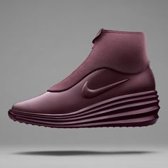 "Sports brand Nike has combined elements from its previous running and basketball footwear designs into ""SneakerBoot"" with a pleated sole and neoprene cover."