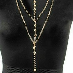 Necklace Long chain Necklace Jewelry Necklaces