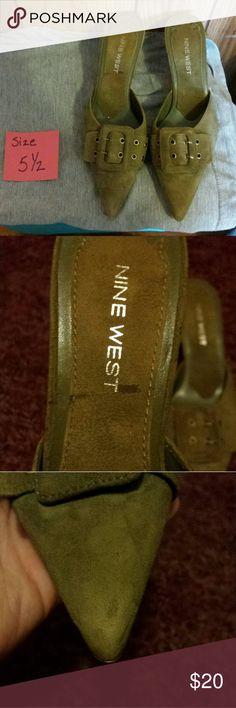 Selling this Nine West Heels on Poshmark! My username is: gal4favre. #shopmycloset #poshmark #fashion #shopping #style #forsale #Nine West #Shoes