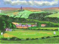 LEPTON CRICKET CLUB,HUDDERSFIELD by Roger Grove