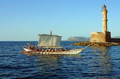 The reconstruction of this Minoan Ship is part of a 4-year integrated research program of Experimental Naval Archaeology http://www.mar-mus-crete.gr/index.php/en/the-minoa-ship/reconstruction