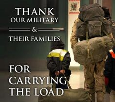 Sacrifices like this are made every day. So, may we all be reminded, that our FREEDOM comes with a cost, and the brave men and women of our military and their families are paying it. To the volunteer Soldiers of the United States of America and their loved ones—who each do their part in making untold sacrifices for the cause of liberty—THANK YOU!