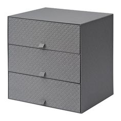 Could use for meeting  papers...PALLRA Mini chest with 3 drawers, dark gray dark gray 12 ¼x10 ¼x12 ¼