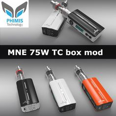 Phimis new 18650 Tri-Temp box mod-MNE 75W TC MOD is coming soon.  Alice Wang Shenzhen Phimis Technology Co., Ltd Tel: 0755-85296861         Skype: Alice Phimis Instagram:phimis-vapor     Whatsapp:+8618718541006 Facebook or alibaba:Shenzhen Phimis #mod #tc #75w #boxmod #tcmod #18650 #phimis #phimisvapor #vapor #vape #ecig