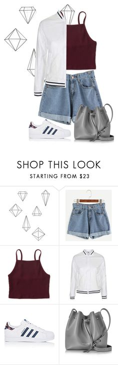 """""""I give up"""" by maleale ❤ liked on Polyvore featuring Umbra, Aéropostale, Topshop, adidas and Lancaster"""