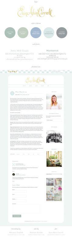 Erin Akin Carroll color code style guide