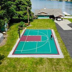 Backyard Playground, Backyard Games, Outdoor Games, Portable Basketball Hoop, Outdoor Basketball Court, Terrain Basket, Basket Tennis, Backyard Sports, Sports Court