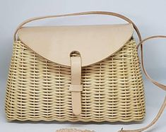 Excellent Quality WICKER BAG With Shoulder Strap - 100% Ecologic - made in Spain - www.mumico.es