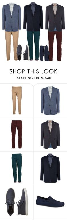 """""""2"""" by apduyer ❤ liked on Polyvore featuring Paul Smith, Simon Carter, Lords of Harlech, Richard James Mayfair, Gap, Tod's, men's fashion and menswear"""
