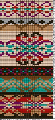 Tricksy Knitter Charts: Fair isle leggins by Hele