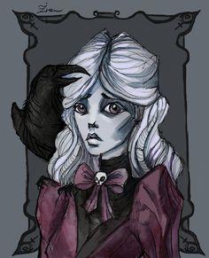 Lenore portrait by IrenHorrors.deviantart.com on @deviantART