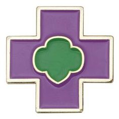 Girl Scout Junior Safety Award Pin. Check out the requirements in the Girl's Guide to Girl Scouting. $3