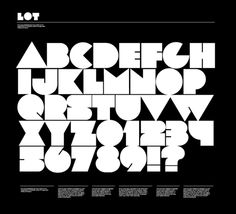 Free Retro Block Style Font: Lot | Web Design Survivalist - Free Web Design Resources - Free Templates, Free WordPress Themes, Free Fonts
