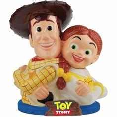 Disney Toy Story Woody and Jessie Cookie Jar