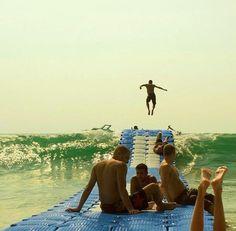 wave-trampoline