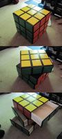 Awesome Rubik's Cube Dresser