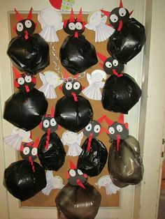 Diy For Kids, Crafts For Kids, Christmas Crafts, Xmas, Toddler Crafts, Activities For Kids, Diy And Crafts, Preschool, Halloween