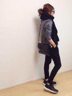 mayumiさんのTシャツ/カットソー「BAYFLOW BAYFLOW/ストライプTプルオーバー」を使ったコーディネート