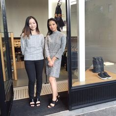 Staff from the A.P.C. Sydney store in Australia. #apc by apc_paris
