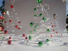 pinterest navidad manualidades alambre - Buscar con Google