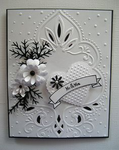 Love this wedding card.  Hopefully these folders will come down in price so I can add some to my collection :-)