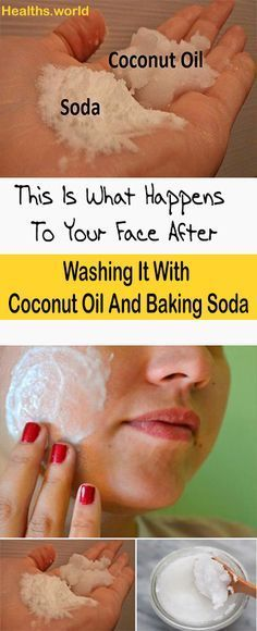 Washing It With Coconut Oil And Baking Soda #fitness #beauty #hair #workout #health #diy #skin #Pore #skincare #skintags #skintagremover #facemask #DIY #workout #womenproblems #haircare #teethcare #homerecipe