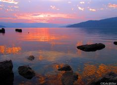 Lake Pend Oreille from Hope