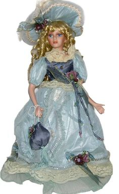 Victorian Porcelain Doll-Stunning Victorian doll-Porcelain Victorian Doll-Fayetta