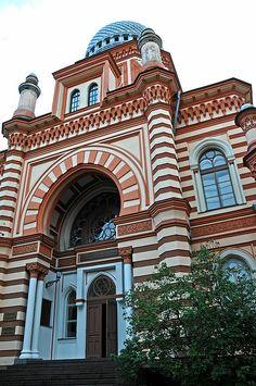 Moorish: Grand Choral Synagogue, St. Petersburg, Russia