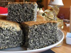 Junk Food, Cookie Recipes, Dessert Recipes, Poppy Cake, Czech Recipes, Cherry Cake, Hungarian Recipes, Sweet Cakes, Snacks