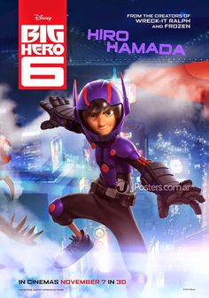 Disney's Big Hero 6 [3D Blu-Ray] – Shopville