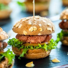 This recipe for homemade hamburger buns take a bit of time but is well worth the effort.