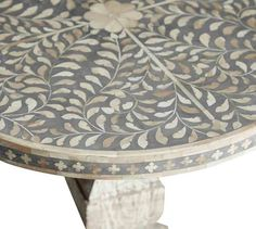 Villena Bedside Table #potterybarn