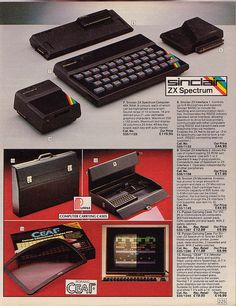 Sinclair ZX Spectrum: Vintage British Argos 1985 Catalogue    ....................Please save this pin.   ......................... Click on the following link!.. http://www.ebay.com/usr/prestige_online