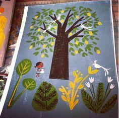 """""""heartart"""" Gouache, Christian Robinson, French Magazine, Art Journal Inspiration, Children's Book Illustration, Vintage Children, Childrens Books, Illustrators, Book Art"""