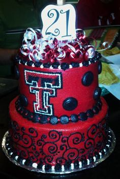 texas tech birthday cake