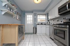 Updated kitchen with SS appliances